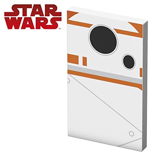Tribe Star Wars TFA 4000mAh Batterie Externe, USB Chargeur Portable de Secours pour iPhone, iPad, Samsung, Nexus HTC et Autres Smartphones, Tablettes etc. - BB8