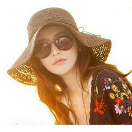HugeStore - Elegante cappello parasole di paglia 343562c0d910