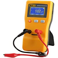 Jingyan M6013 Digital Auto Ranging Capacitance Meter Tester Capacitor Tester Rang from 0.01pF to 47000uF with Accuracy up to 0.01, Refresh Time up to 0.2s and High Resolution of 5 Digit