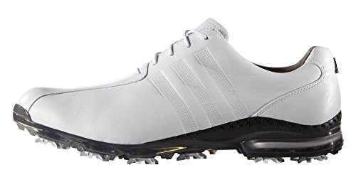 adidas Herren Adipure Tp Golfschuhe, Weiß (White/White/Dark Silver Metallic), 46 EU