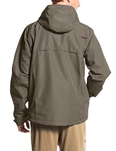 MAIER SPORTS Funktionsjacke Bret aus 100% PES in 10 Größen, Wander-Jacke/ Outdoor-Jacke/ Herren Jacke, wasserdicht und atmungsaktiv Teak