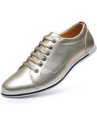 WAWEN - Zapatillas de Caucho para hombre, color dorado, talla 42 2/3 EU