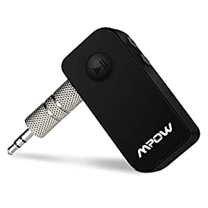 mpow r cepteur bluetooth 3 0 voiture musique streaming r cepteur audio bluetooth adaptateur. Black Bedroom Furniture Sets. Home Design Ideas