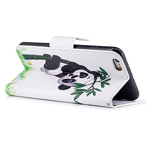 iPhone 6S Plus Custodia Flip,iPhone 6S Plus Custodia in Pelle,Slynmax Corgi Stampato Copertura Folio Cover PU Wallet Case Per iPhone 6s Plus / 6 Plus 5.5 Protezione Caso Ultra Sottile Colorato Protett Cover #5