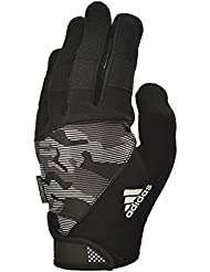 adidas Full Finger Performance Guantes, Negro, M