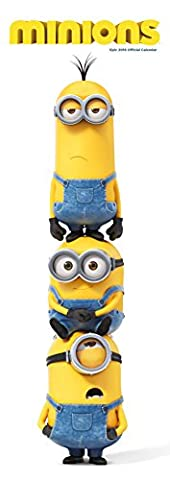 Calendrier Chinois 2016 - The Official Minions Movie 2016 Slim