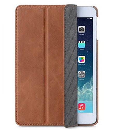 Melkco APMNRELCSC1BNCV Slimme Cover Type Premium Leder Case für Apple iPad Mini Retina Classic Vintage braun