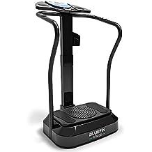 Bluefin Fitness Pedana Vibrante Modello Professionale Con Motore Silenzioso e Altoparlanti Integrati – Aiuta a Perdere Peso, Contrastare la Cellulite, Aumenta la Massa Muscolare