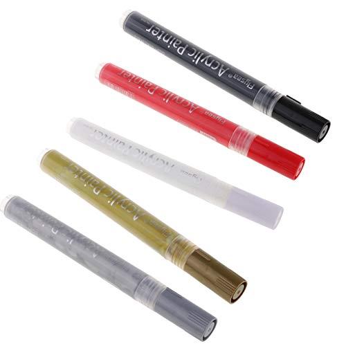 F fityle evidenziatori di vernice acrilica punto fine senza inchiostro regali di compleanno per bambini vernice