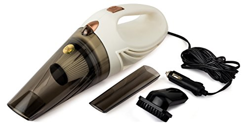 RNG EKO GREEN 12V/106W High Power Wet/Dry Car Vacuum Cleaner - White