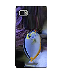 PrintVisa Cute Fish 3D Hard Polycarbonate Designer Back Case Cover for Lenovo Vibe Z K910
