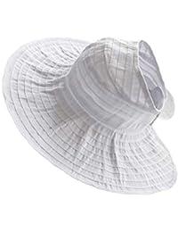 Amayay Sombrero Sombrero De Verano Sombrero De Sombrero Mujer De Playa  Estilo Simple Sombrero De Mujer Maleta Protección Solar… bfb5eedf7f2