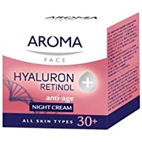 AROMA NIGHT CREAM HYALURON+RETINOL 50ml by Aroma