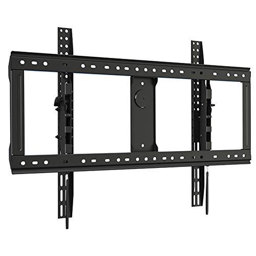 TV-Ständerhalterungen, neigbare TV-Wandhalterung für 65- bis 90-Zoll-LCD-, LED- oder Plasma-Flachbildfernseher - Tragkraft 90 kg - Max. VESA 800 x 500