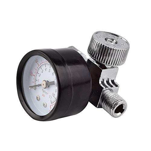 Aleación De Aluminio Control Compresor Manómetro