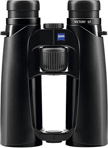 Zeiss Victory SF - Prismáticos con Revestimiento Protector LotuTec, Color Negro, Unisex Adulto, 524224-0000-000, Negro, 10 x 42