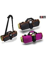 BUBM Taille Rouleau Lot, s'adapte à la plupart des tapis de yoga pour Yoga ou pilates, grandes poches à Transporter d'autres accessoires: bouteille d'eau, Serviette, et sangles, Accessoires personnels, intérieure zippée Vêtements compartment-