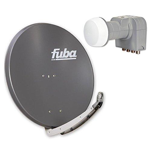 Fuba DAA 850 anthrazit plus Fuba DEK 416 Quad LNB