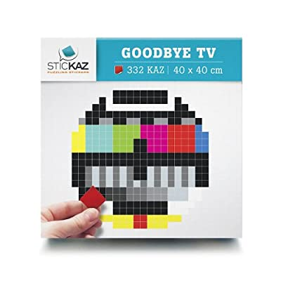 Stickaz SK023 Sticker Goodbye TV