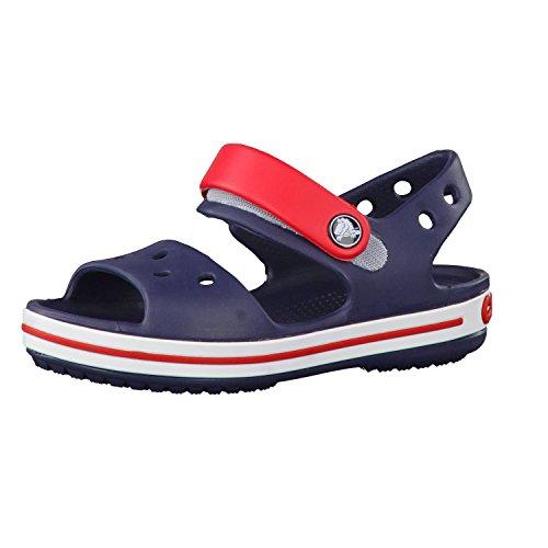 crocs Crocband Sandale Kinder Sandalen 30-31 EU/13 UK Dunkelblau/rot