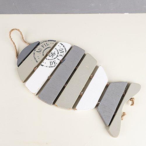 Nautical Stil Fisch geformte hängende Dekoration–Perfekt für das Badezimmer