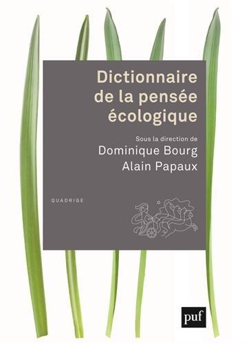 Dictionnaire de la pense cologique