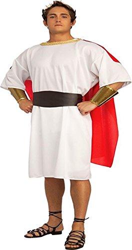 er Grieche EROS Gewand Antike Senator Caesar Einheitsgröße Größe M/L (Grieche Herren Kostüm)