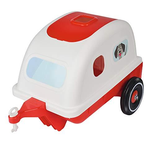 BIG 800056259 - Travel-Caddy Kinderfahrzeug, weiß