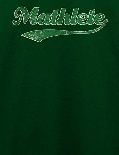 Mathlete Vintage T-Shirt Dunkel Grün