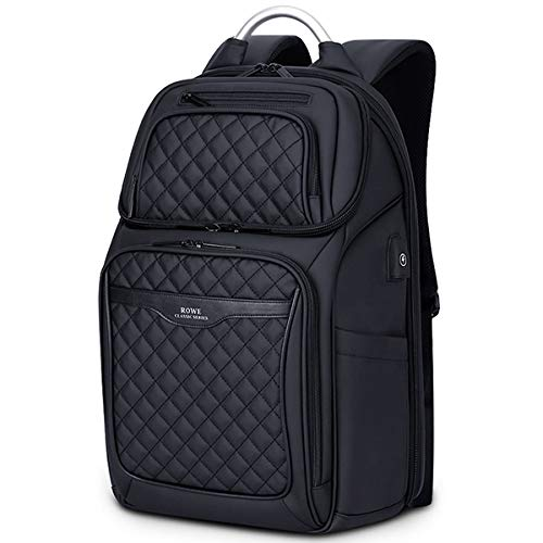 HUAHUA USB-Rucksack Business-USB-Ladetasche Männer 17-Zoll-Laptop-Rucksack wasserdichte Hochleistungs-Mochila-Diebstahlschutz-beiläufige Reise-Rucksack-Tasche