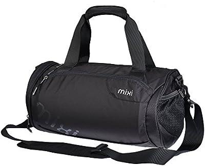 ¡NUEVO! Mixi Trendsetter Bolsa de gimnasio / Carry On Travel Bolso deportivo con correa para el hombro, con cremallera compartimentos