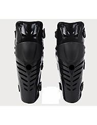 Lookout todoterreno moto Racing rodilla almohadillas guardias Protective Gear negro
