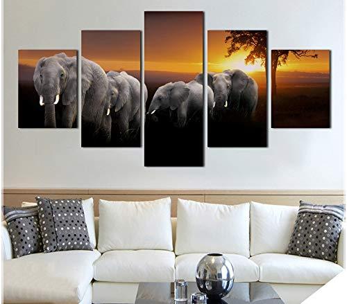 Pintura modular decoración para el hogar habitación cartel HD Impreso en lienzo...