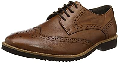 Lotus Men's Newing Brogues, (Brown Leather), 7 UK 41 EU