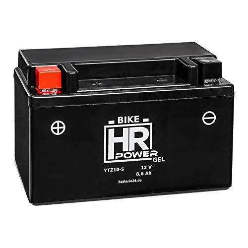 GEL Motorrad Batterie 12V 8,6Ah YTZ10-S wartungsfrei