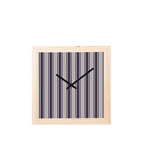 Relojes pared Rayos verticales operados batería Visión