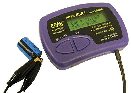 Peak ESR70 Esr- Niedrig-Ohm-Widerstands- Und Kapazitätsmessgerät