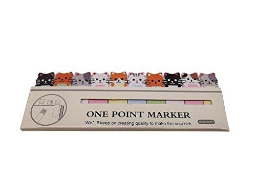 Schreibwaren Cartoon Aufkleber Lesezeichen Memo Beitrag Registerkarte Haftnotizen Marker Briefpapier - Cute Cats Lieferungen