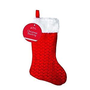 Shatchi - Saco de Papá Noel (5 unidades), color blanco