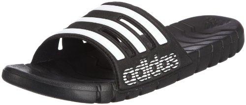 Adidas - Proveto, Infradito da uomo, nero (black 1/white/black 1), 39 1/3