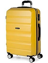ITACA - Maletas de Viaje Trolley ABS Lisas. Rígidas Resistentes y Ligeras. Asas 4 Ruedas Candado. Pequeña Cabina 55x40x20 cm Low…