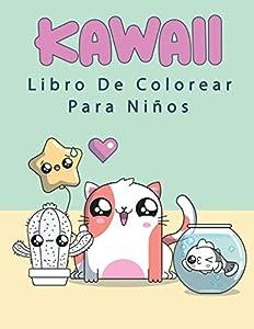 Kawaii Libro de Colorear Para