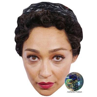 Ruth Negga Maske aus Pappe (Misfits Maske)