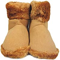 S-tubit Botas de Calentamiento Zapatos eléctricos con calefacción USB para Calentar los pies Zapatos Favoritos de Las niñas Fine