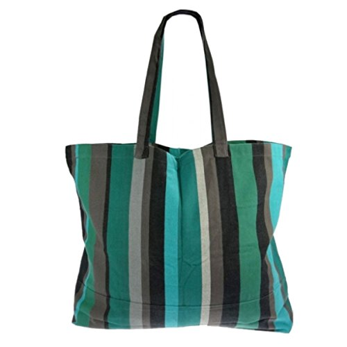 Textiles Fairtrade , Borsa da spiaggia  multicolore caraibi caraibi