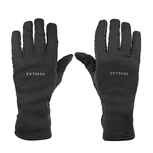 YiWu Outdoor Wärme Touchscreen Handschuhe Männlich Rutschfeste Weibliche Herbst Und Winter Wandern Bergsteigen Reiten Sport Radfahren (Farbe : Schwarz, Size : S)