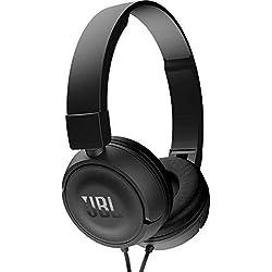 JBL T450 Casque supra-auriculaires Noir