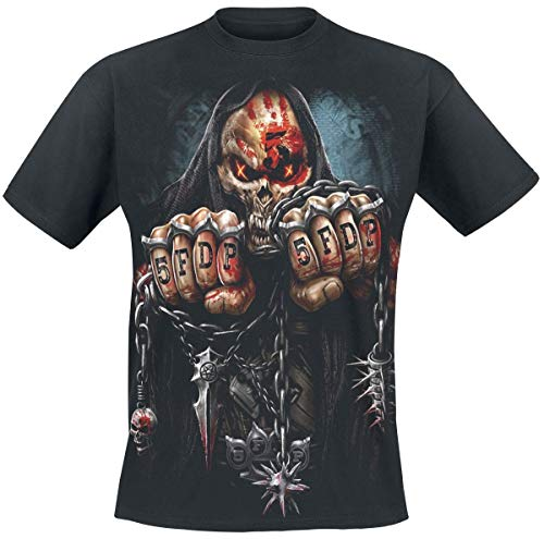 Five Finger Death Punch Game Over T-Shirt schwarz L -