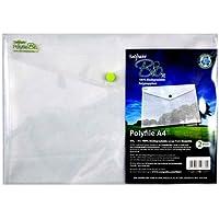 Snopake Bio2 Polypropylene (PP) Transparent folder - folders (Polypropylene (PP), Transparent, A4, 90 sheets)