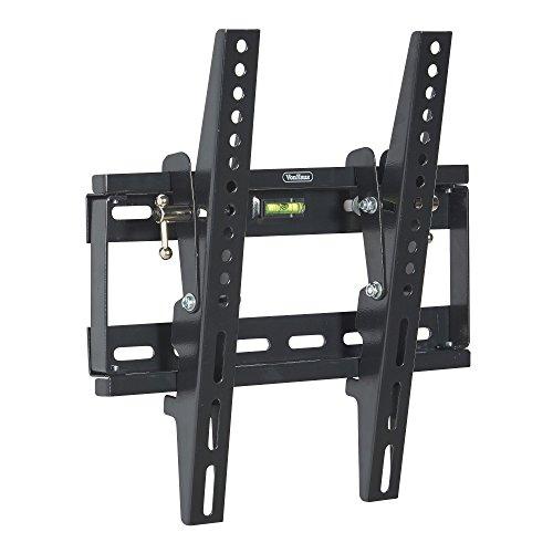 """VonHaus TV Wandhalterung 17-37.5"""" Neigbar mit eingebauter Wasserwaage für LED, LCD, 3D, Curved, Plasma, Flachbildfernseher - Belastbar bis 75Kg - bis VESA 300x300"""